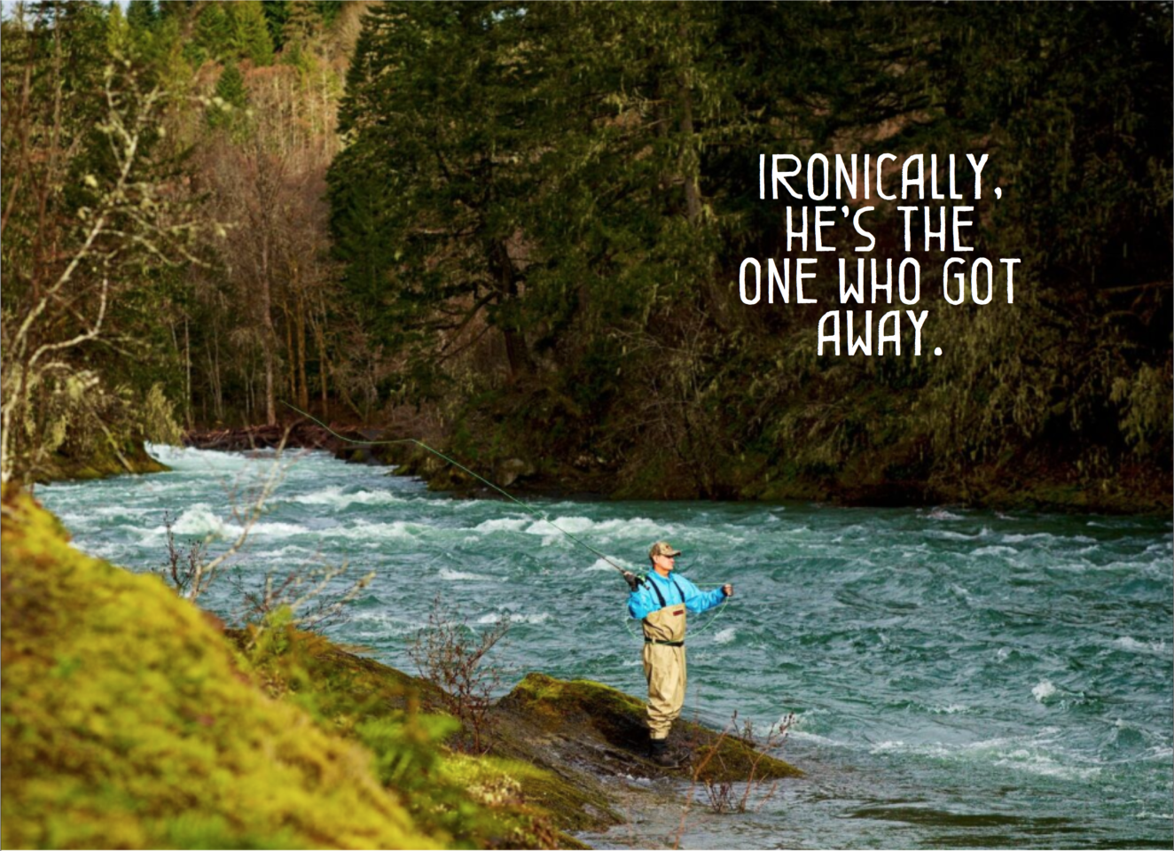 The Cowichan River has some of the best fly fishing on Vancouver Island