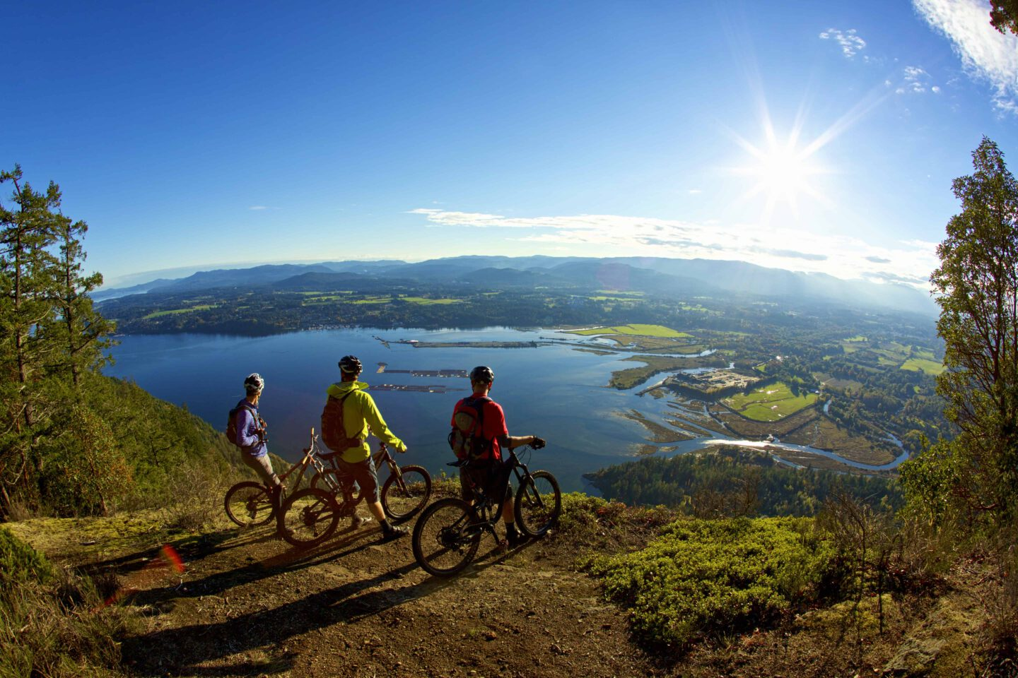 The Cowichan is the perfect place to practice a healthy and active lifestyle with it's numerous outdoor activities and wellness programs.