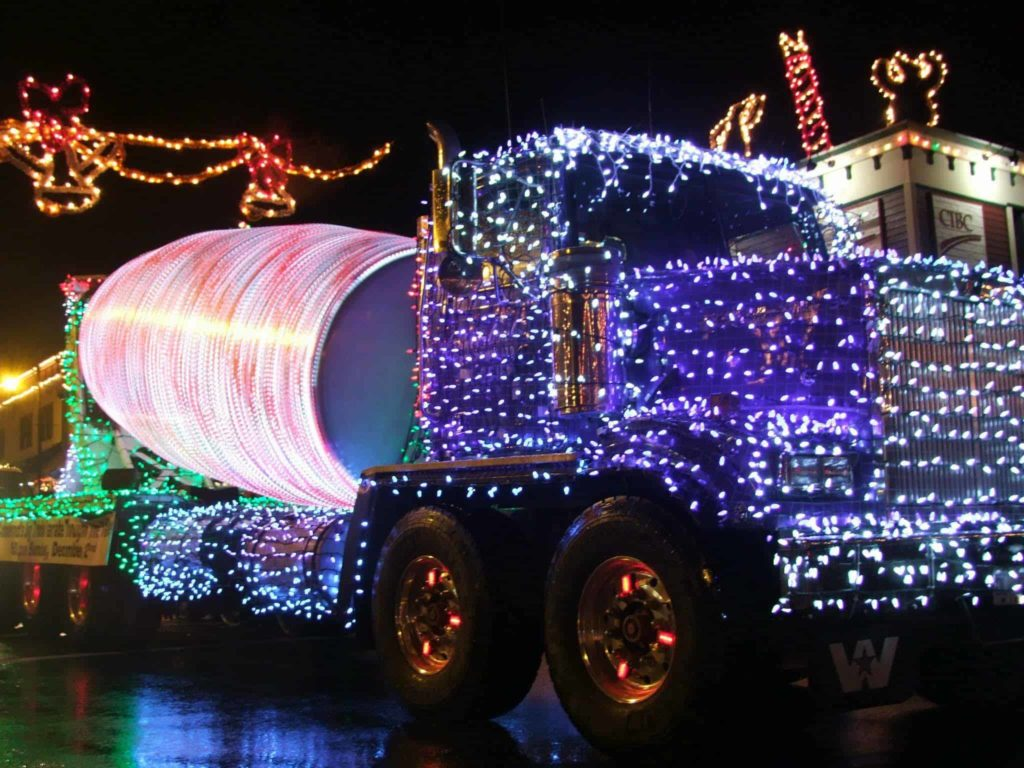 The Ladysmith Lightup Holiday event in Cowichan, BC